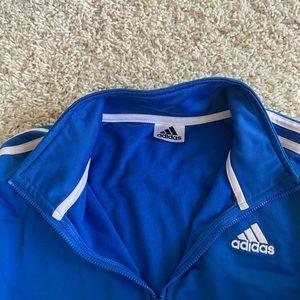 adidas Jackets & Coats - adodas blue track jacket ✧